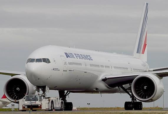 Boeing 777 von Air France - Foto: Konstantin von Wedelstädt