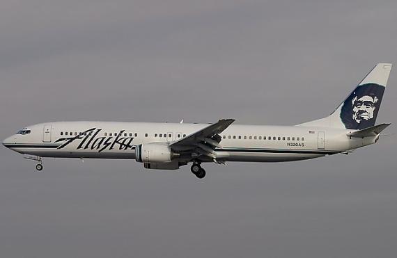 Boeing 737-900 von Alaska Airlines - Foto: Konstantion von Wedelstädt