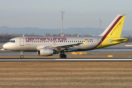 A319 von Germanwings beim Start in Wien - Foto: Max Hrusa