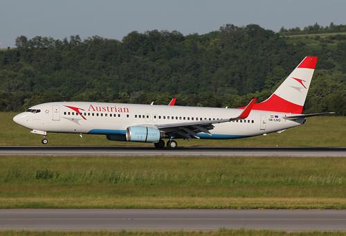 Heben vorerst nicht mehr nach Hurghada und Sharm al Sheikh ab: Flugzeuge der AUA - Foto: Max Hrusa