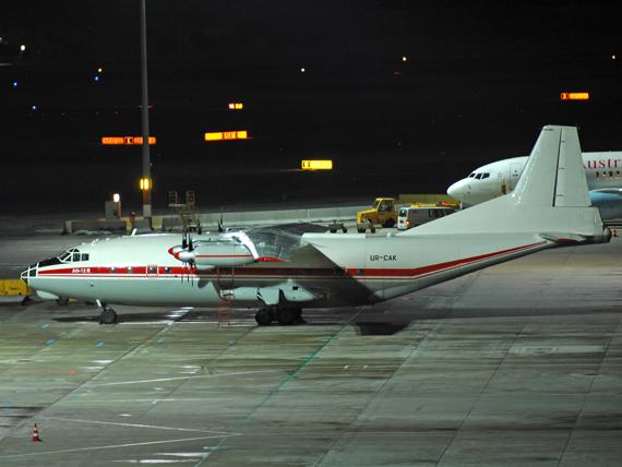 Antonov An-12 am Flughafen Wien (Symbolbild) - Foto: Austrian Wings Media Crew