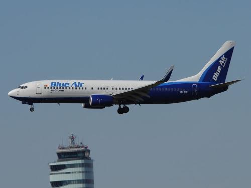 Mit Beginn des Winterflugplanes hatte Blue Air ihre Flüge nach Wien eingestellt - Foto: P. Radosta / Austrian Wings