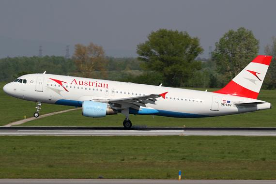 Austrian Airlines fliegen ab 8. Juni 2011 zu zwei Destinationen im Irak - Foto: R. Reiner / Austrian Wings