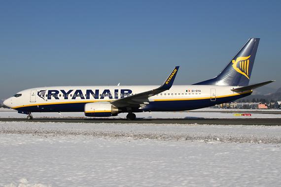 Boeing 737-800 von Ryanair (Symbolbild) - Foto: Austrian Wings Media Crew