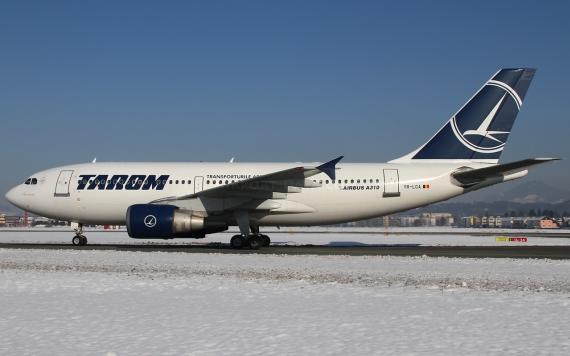Airbus A310-300 von Tarom - Foto: Austrian Wings Media Crew