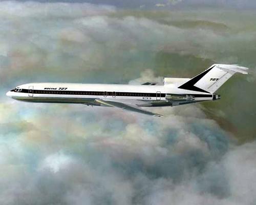 Boeing 727 im Flug (Symbolbild) - Foto: Boeing