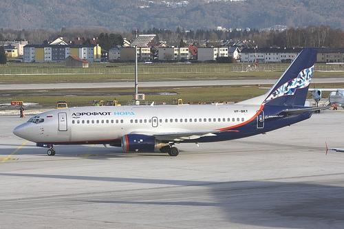 Boeing 737 von Nordavia, vormals Aeroflot Nord - Foto: Christian Schöpf